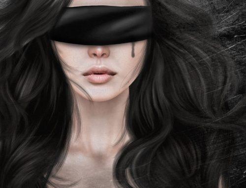 Con los ojos vendados